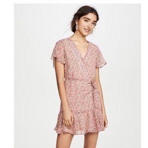 BB Dakota Call Me Daisy Wrap Dress Size Small NWT